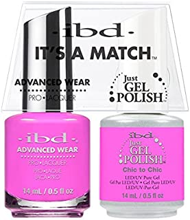 ibd Advanced Wear Color Duo Chic to Chic #656 UV Gel Color