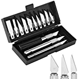 Mr. Pen- Exacto Knife Kit, Exacto Knife, 13 Piece, Craft Knife Set, Exacto Knife for Crafting, Cutter, Pen Knife, Razor Knife, Craft Knife, Exacto Knife Blades, Hobby Knife, Leather Cutting Tool