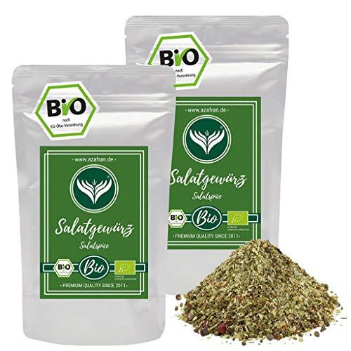 Azafran BIO Salat Gewürz   Salatkräuter Mix   Salatwürze 500g