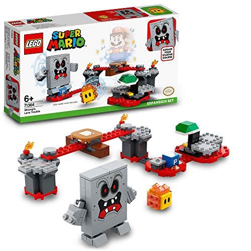 LEGO 71364 SuperMario SetdeExpansión:LavaletaldeROCO, Juguete de Construcción