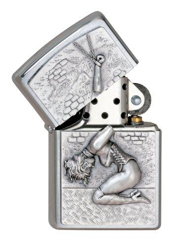 Zippo Zippo 1300133 Feuerzeug 200 Prisoner of Love Emblem Chrome