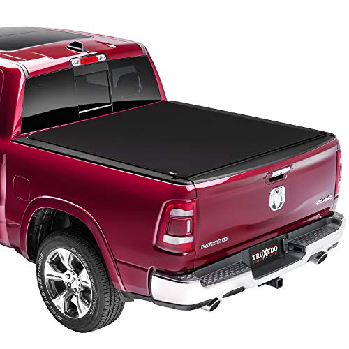 TruXedo Sentry CT Hard Rolling Truck Bed Tonneau Cover   1584916   Fits 2019 – 2021 Dodge Ram 1500, Does Not Fit w/ Multi-Function (Split) Tailgate 5′ 7″ Bed (67.4″)