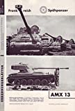 Erkennungsblätter Folge 12 Februar 1960 Frankreich Spähpanzer AMX 13 u. A.