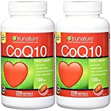 TruNature Coenzyme CoQ10 100 mg - SPECIALLL PACK OF 440 Softgels
