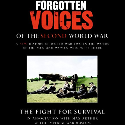 The Fight for Survival audiobook cover art