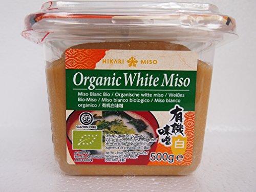 500g Organic Sojabohnen Paste, weisse Miso Paste Bio Sojabohnen Hikari Japan