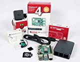 Raspberry Pi 4 Computer Official Full Kit with Official Fan System and Raspberry Pi SO (4GB RAM, Black)