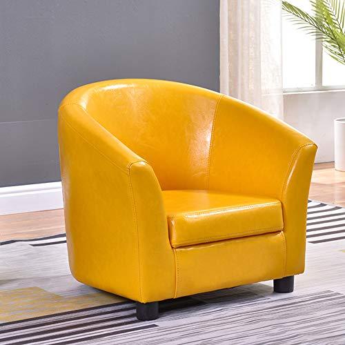 XLLLL Sillones para Niños Esquina De Lectura Sofá Individual para Niños Niña Dormitorio Sala De Juegos Silla para Sentarse,Yellow1