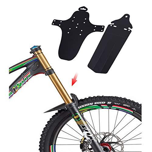 Honbobo Parafanghi per Biciclette Parafanghi Anteriori e Posteriori, Completo per Ciclismo, Bicicletta, Mountain Bike
