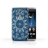 Phone Case compatible with ZTE Axon 7/Axon 2 Mandala Art