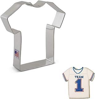 "Ann Clark Cookie Cutters, Large T Shirt / Sports Jersey / Medical Scrub Cookie Cutter. 4.25"""
