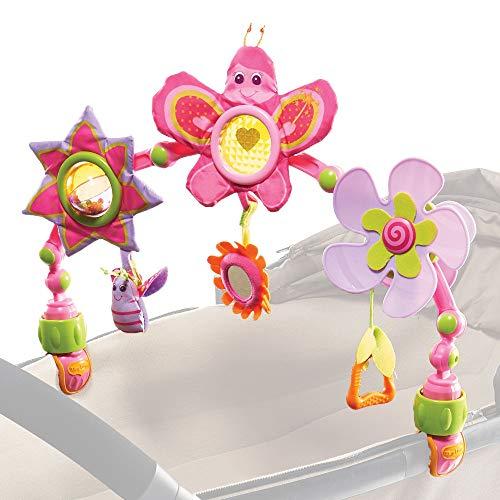 Tiny Love Princess Butterfly Sunny Stroll Arco Giochi per Passeggino, Culla e Ovetto, con Aggancio Universale, Multicolore