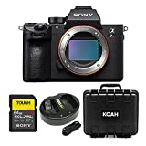 Sony a7R III 42.4MP Fullframe Mirrorless Interchangeable-Lens Camera 64GB Bundle