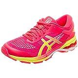 Asics Gel-Kayano 26, Zapatillas de Running para Mujer, Rosa (Laser Pink/Sour Yuzu 700), 39 EU