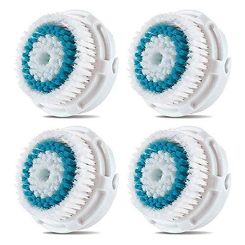 BEAUTYBIGBANG 4 Stück Ersatzköpfe für Mia - Gesichtsbürste für 1/2 / 3 (Aria) Smart Profile Alpha Fit Plus Sonic Radiance