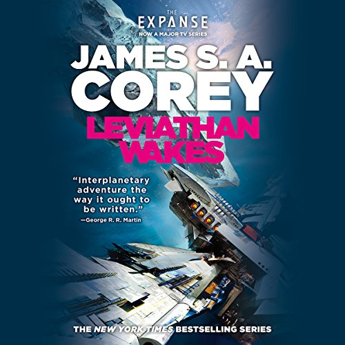 Leviathan Wakes audiobook cover art