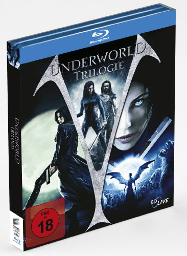 Underworld - Trilogie (Limited Steelbook, exklusiv bei Amazon.de) [Blu-ray]