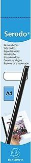 EXACOMPTA SERODO 397081E - Une boite de 25 baguettes à relier pour reliure manuelle noire 3 mm
