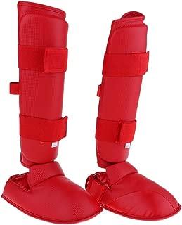 Baoblaze テコンドー 空手 総合格闘技 シンインステップ ガード レッグフットプロテクター パッド 全10選択
