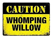 鳴き声のヤナギ メタルポスタレトロなポスタ安全標識壁パネル ティンサイン注意看板壁掛けプレート警告サイン絵図ショップ食料品ショッピングモールパーキングバークラブカフェレストラントイレ公共の場ギフト