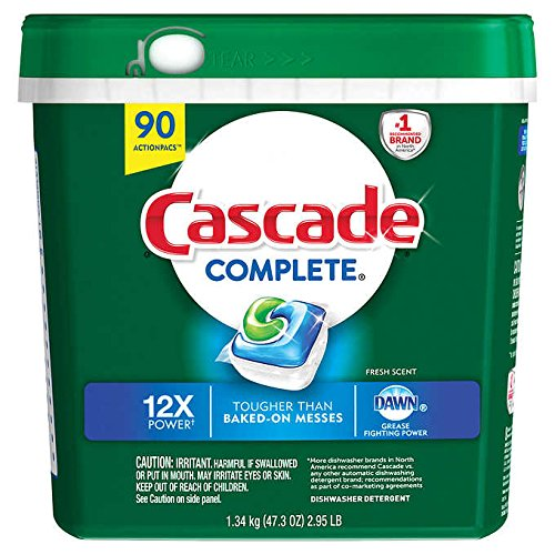 cascade dishwasher detergent gel - 7