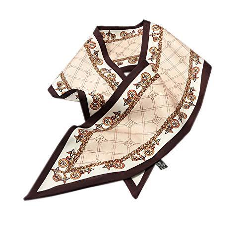 LFchujian zijden sjaal dames sjaal zijden sjaal wildsjaal lang dungeslepen voorjaar en herfst zomer zonnecrème sjaal strandhanddoek ketting-Gamma
