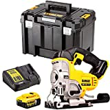 Dewalt DCS331N 18V Cordless Jigsaw with 1 x 5.0Ah Battery & Charger in Case