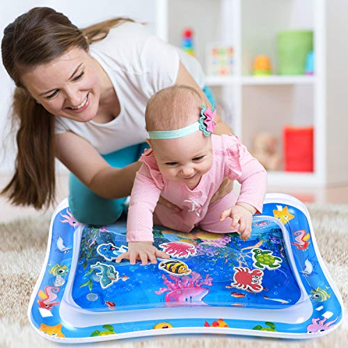 MAGIFIRE Tummy Time Baby Water Mat Infant Toys for 3 6 9 Months Boys Girls