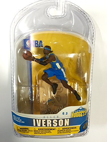 McFarlane Sportspicks: NBA Mini Figures Allen Iverson Action Figure