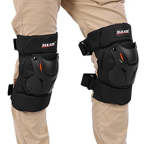 Broadroot equipo Protector rodilleras moto motocicleta de carreras de guardia protector