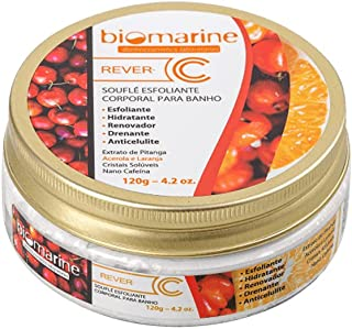 Esfoliante Anti Celulite para Banho Biomarine Rever C Soufle - 120g