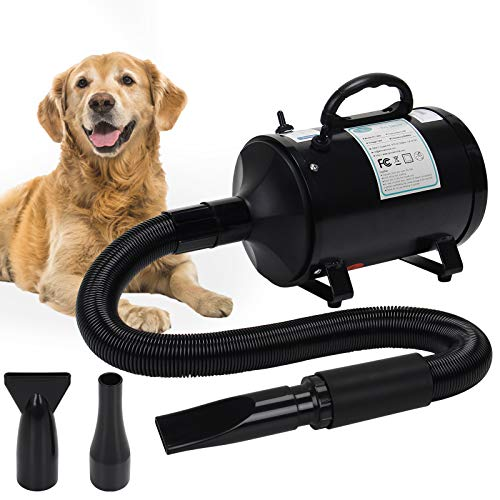 winniehome 3.2HP Pet Grooming Hair Dryer for Dogs and Cats, High Velocity Hairdryer Blaster Fur...