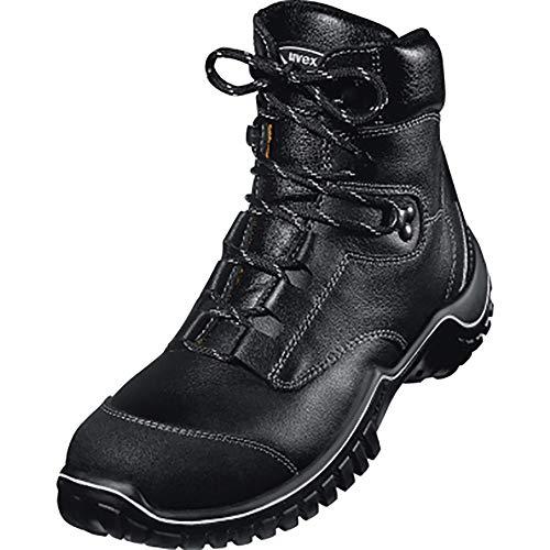 Uvex 6986.2–10Motion Light Lace Up Sicherheit Stiefel mit Zwischensohle, S3, EU 44, Größe 10, Schwarz