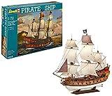 Revell 80-5605 Pirate Ship - Maqueta de plástico, kit modello, escala 1:72