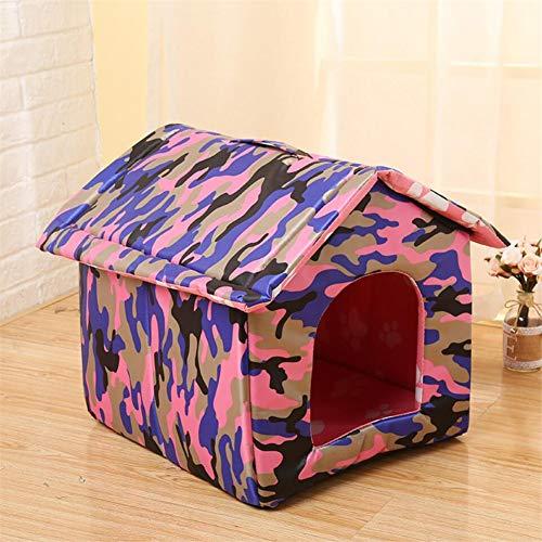 MAN Plegable Extraíble Pet Litera Gato Litera Casa De Lluvia Impermeable