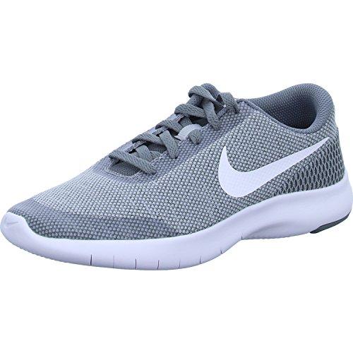 Nike Kinder Flex Experience Run 7 Grau Mesh Laufschuhe 38