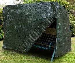 Tooltime Voche® Heavy Duty Waterproof 3 Seater Swinging Garden Hammock Cover with Zip