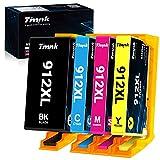 Timink 912 XL Cartuchos de Tinta Reemplazo de HP 912 XL Compatibles con HP OfficeJet 8012 8015 8017 OfficeJet Pro 8022 8024 8025 All-in-One (4 Paquetes)