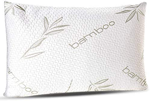 Sleepsia Bamboo Pillow Premium Pillows for Sleeping Memory Foam Pillow with Washable Pillow product image