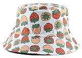 Seupeak Cubeta Sombreros Fruta Cereza Cubo Sombrero niña Mujeres...