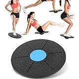 Fournyaa Tabla de Entrenamiento Abdominal, Tabla de Equilibrio de Yoga portátil, Peso Ligero Mejora la Estabilidad Mejora la maniobrabilidad Entrenamiento de Equilibrio para Entretenimiento