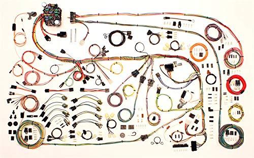 Car Wiring Harness, Classic Update, Complete, Mopar A-Body 1967-75, Kit