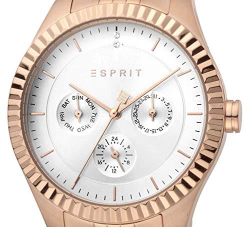 Recommended products (Seguno) - Esprit ES1L202M0095 Flute Silver Rosegold MB Damenuhr