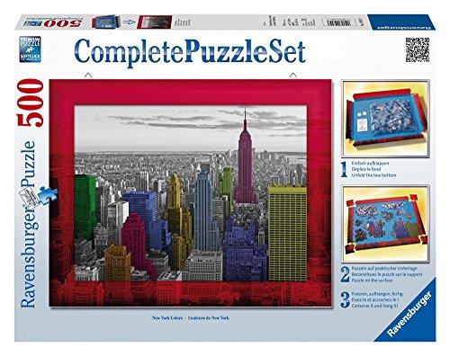 Ravensburger - 14894 - Puzzle Classique - Couleurs De New York Comp - 500 Pièces