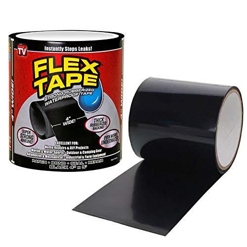 Shop Tory Flex Tape – wasserabweisendes und wasserfestes Klebeband – Farbe Schwarz