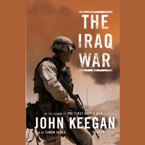 The Iraq War audiobook cover art