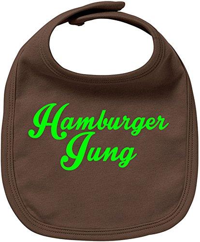 EZYshirt® Hamburger Jung Baby Lätzchen Halstuch