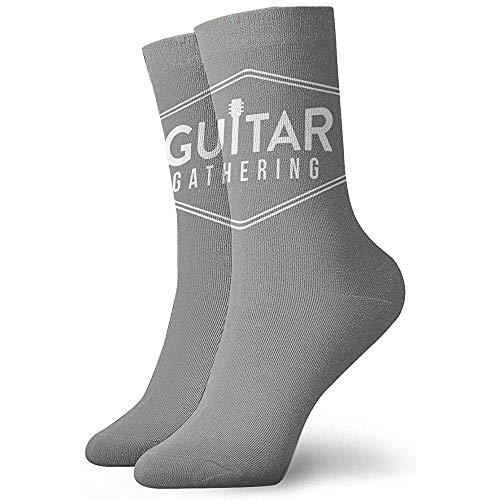 Femmes Guitar Gatherin Boot Socks Moisture Control Thermal Socks