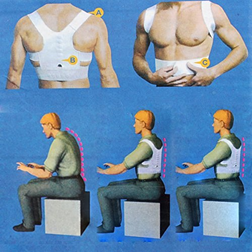 CareforYou® Unisex Magnetische Therapie Houding Corrector Lichaam Terug Pijn Riem Brace Schoudersteun Voel Jonge Brace Riem Verstelbaar