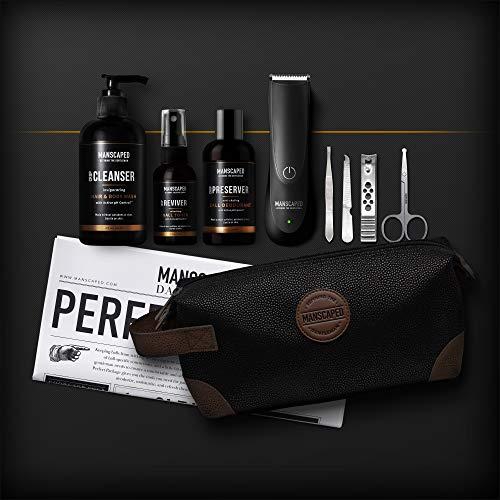 Kit de afeitado para hombre de MANSCAPED™ Perfect Package 2.0, afeitadora eléctrica...